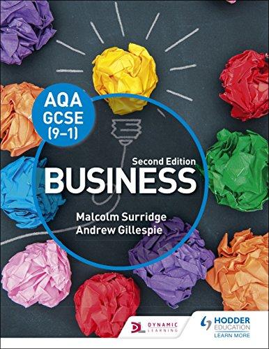 AQA GCSE (9-1) Business, Second Edition: Second Edition (Aqa Gcse 9-1)