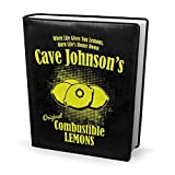 Copertina per libri 22,9 x 27,9 cm Portal 2 Cave Johnsons, limoni combustibili, perfettamente elastica, lavabile, pratico, riutilizzabile, non scivola per studenti