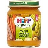 Hipp Organique Mon Premier Dîner De Dimanche 4 + Mois 125G - Lot De 2