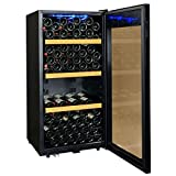 Climadiff CLS130 Cave à Vin 130 bouteilles Classe: 618251 Noir