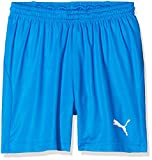 PUMA Kinder Liga Shorts Core w Brief Jr Hose, blau (Electric Blue Lemonade-White), 164