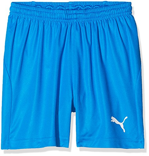 PUMA Kinder Liga Shorts Core w Brief Jr Hose, blau (Electric Blue Lemonade-White), 164