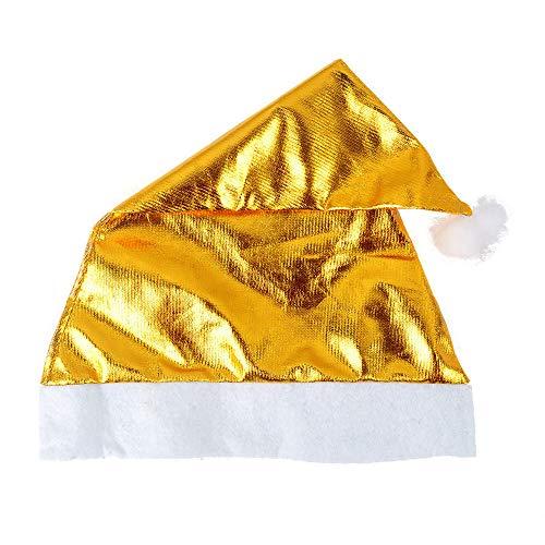 BZLine Hut   Weihnachtsmütze Nikolausmütze Mütze Santa Nikolaus   Super Plüsch, kuschelweich & angenehm zu Tragen   Für Kinder & Erwachsene Xmas   Weihnachtsdeko, Adventsfeier, (Plüsch Santa Mütze)