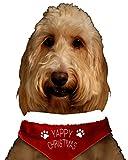 1x Santa 'de Noël Collier bandana pour chien