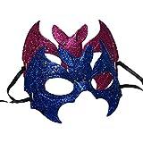 BESTOYARD Halloween Bat Maske Glitter Kinder Erwachsene Halb Maskerade Masken Party Favors Supplies Dekoration 2 Stücke