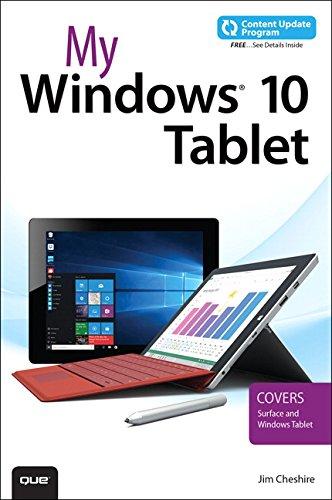 My Windows 10 Tablet...