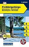 Deutschland Outdoorkarte 36 Fichtelgebirge 1 : 35.000: Schneeberg, Ochsenkopf, Bischofsgrün, Wunsiedel. Wanderwege, Radwanderwege, Nordic Walking, Skilanglauf (Kümmerly+Frey Outdoorkarten Deutschland) - Kümmerly + Frey