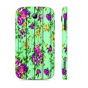 Samsung Galaxy J7 Floral Overload designer mobile hard shell case by Enthopia
