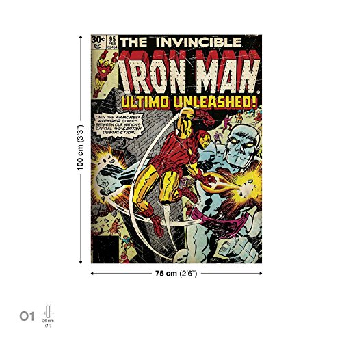 marvel-iron-man-leinwand-bilder-ppd1685o1fw-wallsticker-warehouse-size-o1-100cm-x-75cm-230g-m2-canva