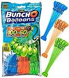 [ZURU] Bunch O Balloons - 105 Stück / 100 in 60 Sekunden / selbstschließend / WASSERBALLONS / 3 Bündel á 35 Wasserbomben / Water Balloons Seal / SELF Seal / Mixed