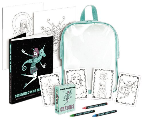 Tara McPhersons Somewhere Under the Rainbow Coloring Kit