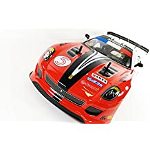 Ferrari GTO Style 4WD Drift Radio Remote Control Car POWERFUL 280 Motor RC Drift Car 1:10 Scale - 4 FREE Rubber Tires for Grip by Action Force Ltd