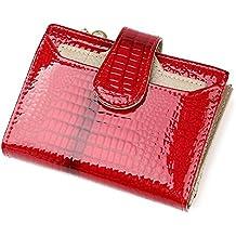 1fc1188523486 Modische Lackleder Geldbörse für Damen Short Purse Organizer