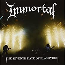 The Seventh Date Of Blashyrkh (+dvd) by Immortal (2010-08-05)