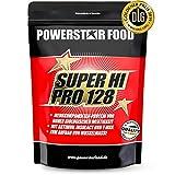 Notre bestseller SUPER HI PRO 128 - Protéine multicomposant en poudre pour musculation, prise de masse - Produit d'après une formule scientifique (Pêche Fruit de la Passion, 1000 g Sachet)