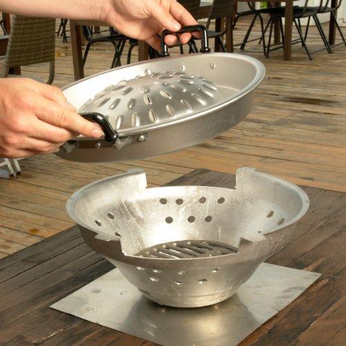 Thai Grill 40cm - thailändischer Tischgrill - THAI BBQ - Muh Ka - Grill Yam Tom