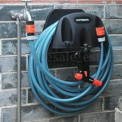 Wall Mounted Water Pipes Hose Hanger Reel Holder Organizer Garden Tap Watering N