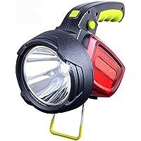 GW Reflector LED, Super Brillante Luz Portátil Recargable, Multi-Función De Alta Potencia Impermeable Familia De Acampada Al Aire Libre De Emergencia De Pesca