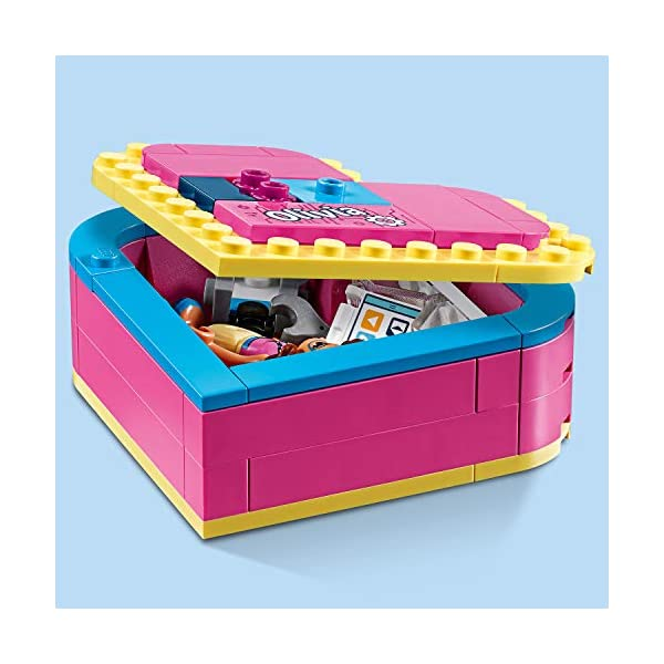 LEGO Scatola Del Cuore Di Olivia Costruzioni Piccole 3 spesavip