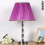 Cristal lampe de table simple mode moderne cadeau lampe de table chambre table de...