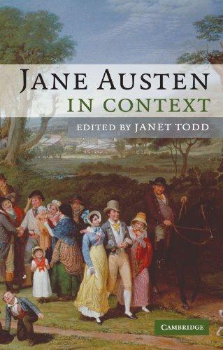 Jane Austen in Context Paperback (Literature in Context)