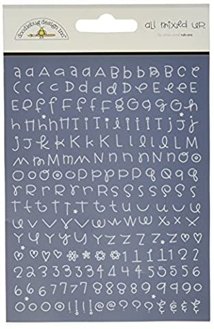 Expressions Rub-On Alphabet Small 4