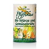 Vitalife-Versand Pfiffikus / Bio-Gourmet-Streuwürze / Gemüsebrühe, 2er Pack (2x250g), Streuer