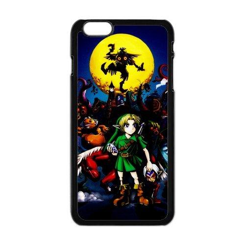 The Legend of Zelda Design Durable TPU Coque de protection pour Apple iPhone 6Plus, iPhone 6Plus, iPhone 6Plus 5.5Étui cover case (Blanc/Noir)
