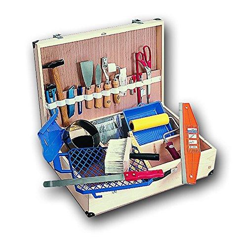 Preisvergleich Produktbild FRIESS Maler-Werkzeugkoffer ECONOMY 60cm x 40cm x 18cm, bestückt, 26-tlg.