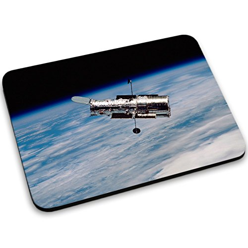 Weltraum 10142, Raumfahrzeug, Mousepad Anti Rutsch Unterseite für Optimalen Halt Kompatibel mit allen Maustypen (Kugel, Optisch, Laser) Ideal für Gamer und für Grafikdesigner.
