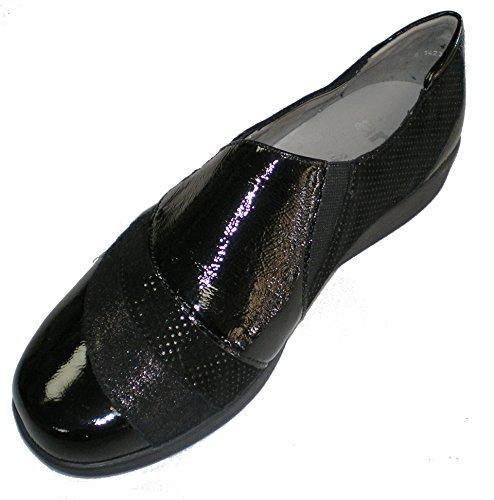 Ara 12-26334 Meran femme slipper Noir