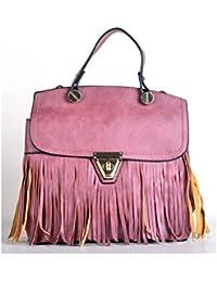Hopping Street Zip Dark Maroon Handbag