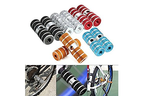 Honeysuck Bicycle Cycling Bike Riding Axle Foot Pegs Pedals ?Gold?