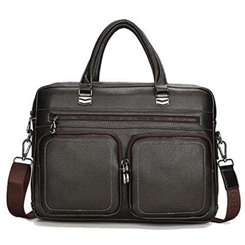 Männer Aktenkoffer Business Tasche Mann Bags Mens Laptop Tasche Herren Crossbody Schultertasche Leder Aktentaschen Männer Maleta