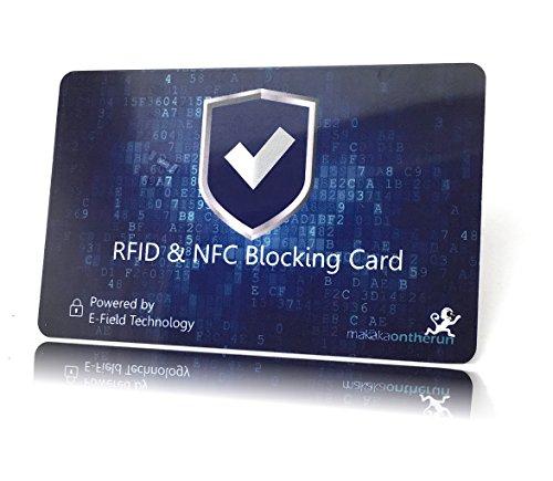 [Doppelpack] RFID Blocker Card & NFC Schutz - 1 Schutzkarte pro Wallet statt Kartenhüllen für EC & Kredit-Karten - siehe Video