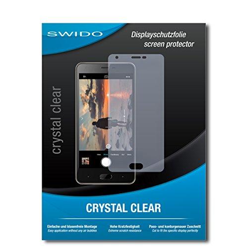 SWIDO Schutzfolie für Doogee X20 [2 Stück] Kristall-Klar, Hoher Härtegrad, Schutz vor Öl, Staub & Kratzer/Glasfolie, Bildschirmschutz, Bildschirmschutzfolie, Panzerglas-Folie