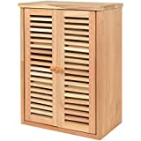 ts-ideen – Botiquín, estante estanteria, para pared, madera de nogal, estilo natural
