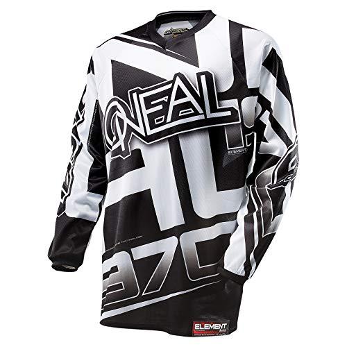 O'NEAL Herren Jersey Element Racewear, Schwarz, XXXX-Large, 0016R-10