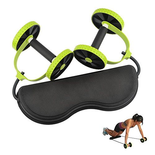 Bauchtrainer Roller Equipment, ruiminou Bauch Taille Fitness Roller, Bauch-Übung Roller Rad, Bauch-Workout Rad Roller für Home/Gym Muscle Übung