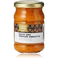 Marque Amazon - Wickedly Prime Pesto aux légumes rôtis (6x 190g)