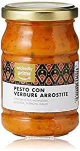 Marchio Amazon - Wickedly Prime Pesto con Verdure Arrostite (6x190g)