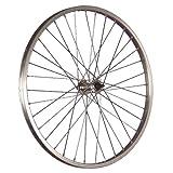 Taylor Wheels Laufrad 24 Zoll Vorderrad Büchel Aluminiumfelge Vollachse silber