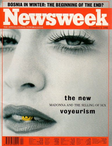 newsweek-magazine-back-issue-2-11-1992-the-new-voyeurism-madonna-and-the-selling-of-sex-bosnia-in-wi