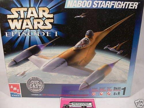 ERTL STAR WARS EPISODE I NABOO STARFIGHTER DIE CAST MODEL KIT 1:48 BY ERTL