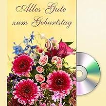 Alles Gute zum Geburtstag: Grußkarte mit Mini-CD im Umschlag