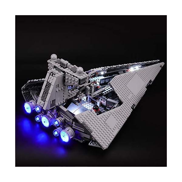 BRIKSMAX Kit di Illuminazione a LED per Lego Star Wars Imperial Star Destroyer, Compatibile con Il Modello Lego 75055… 1 spesavip