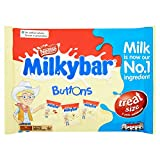 Nestle Milkybar White Chocolate Mini Buttons, 12 Bags, 189 g