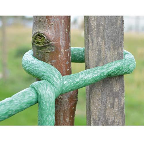 Provence Outillage 08097 Lien pour Végétaux Vert Diamètre 5 mm
