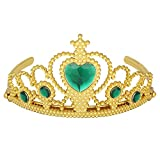 Das beste Tiara für Mädchen Abschlussbälle Festzüge Princess Party Krone Geburtstag-gold