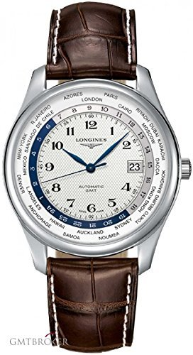 Longines Master Collection Leather Automatic Mens Watch L28024703 by Longines